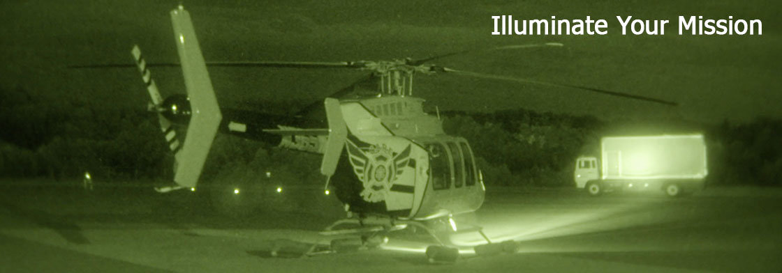 Illuminate your mission with an LED Super Nighscanner